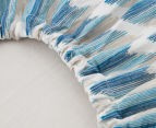 Cot Fitted Sheet Blue by Petit Nest (2)