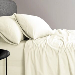 1200TC Organic Single Cotton Sheet Set by Elan Linen (4)